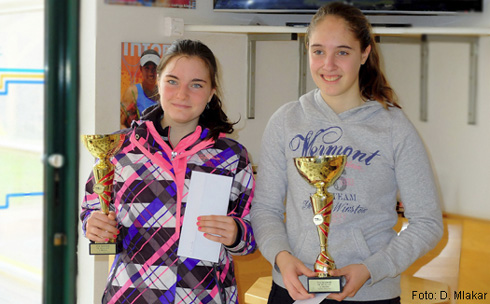 Tina Godec zmagovalka tenis turnirja v Mariboru